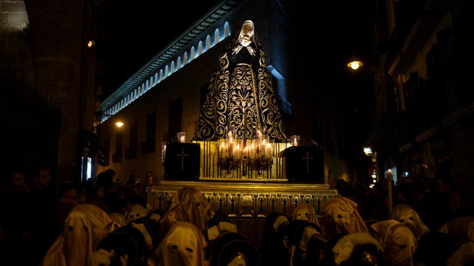 Nuestra Señora de los Dolores descansa en la Catedral
