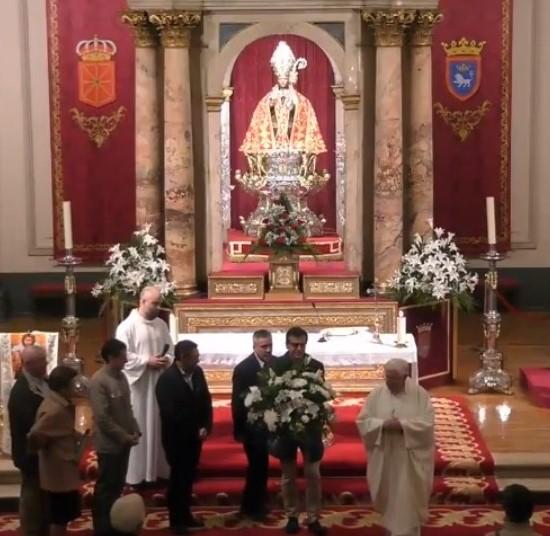 4ª ofrenda floral a la Virgen Dolorosa