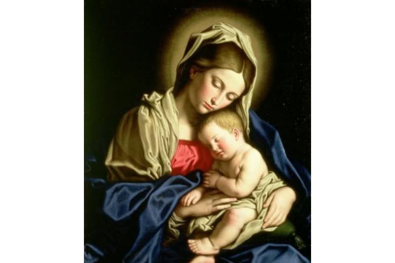 Primer día del Triduo en honor a Nuestra Señora de la Soledad