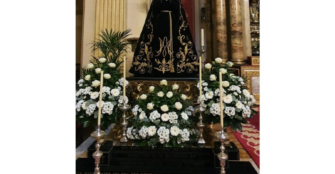 Septenario virtual a la Virgen Dolorosa. 28 marzo.