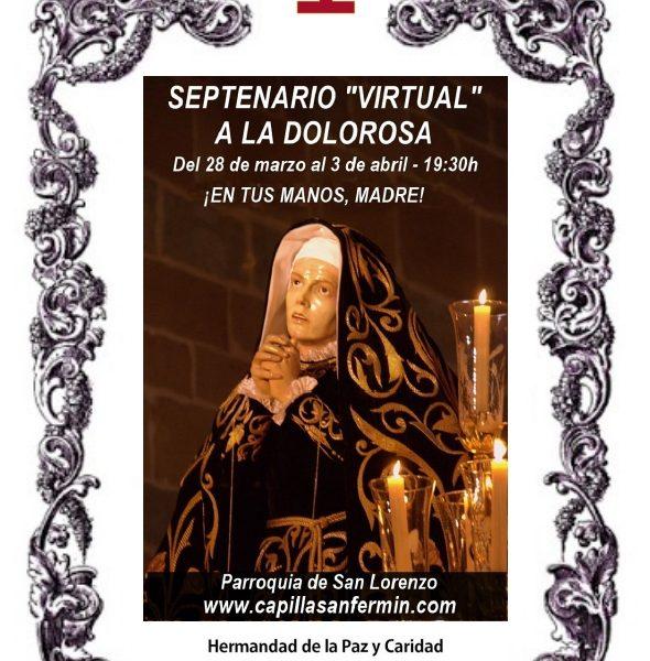 Septenario virtual a la Virgen Dolorosa