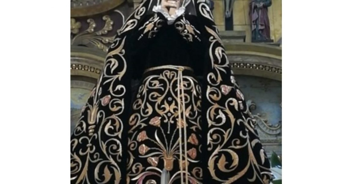 Septenario virtual a la Virgen Dolorosa. 1 de abril