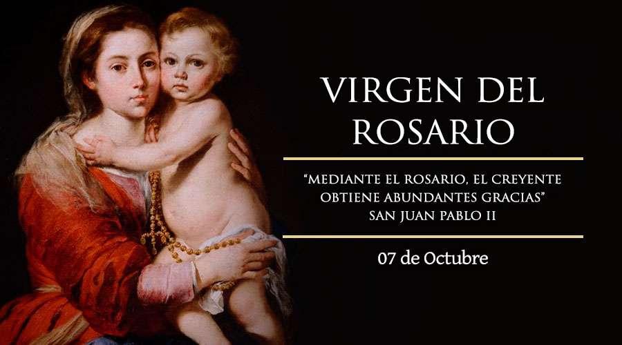 Día de la Virgen del Rosario