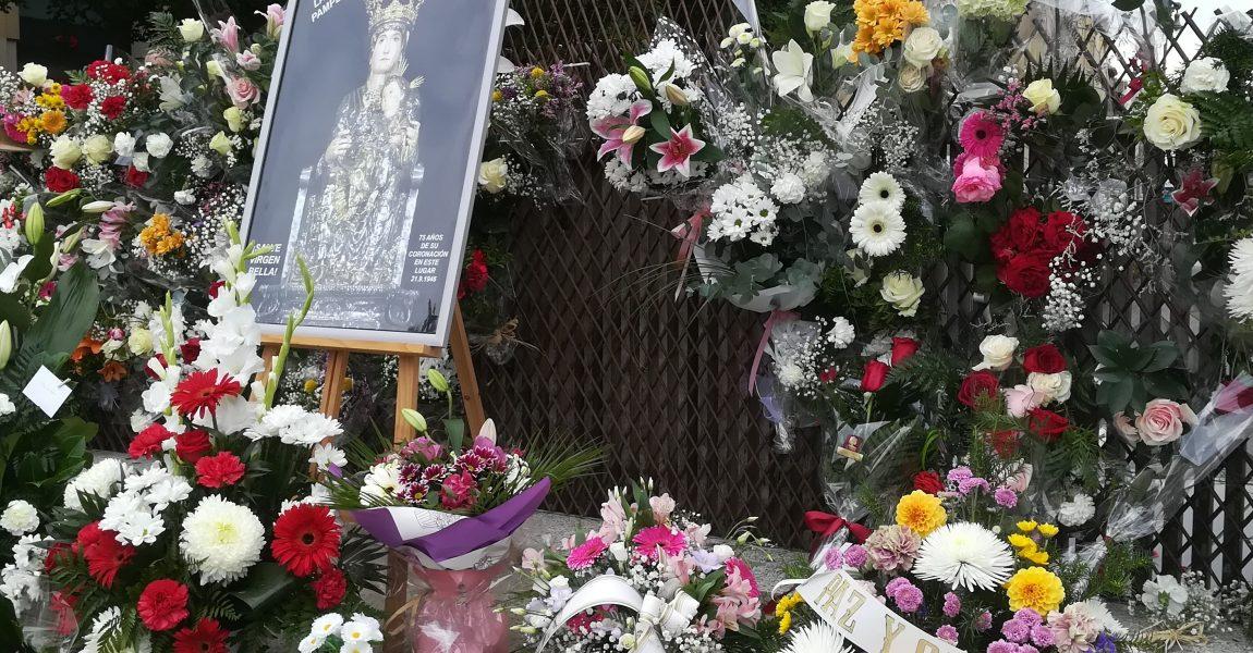Ofrenda floral a Santa Mª la Real