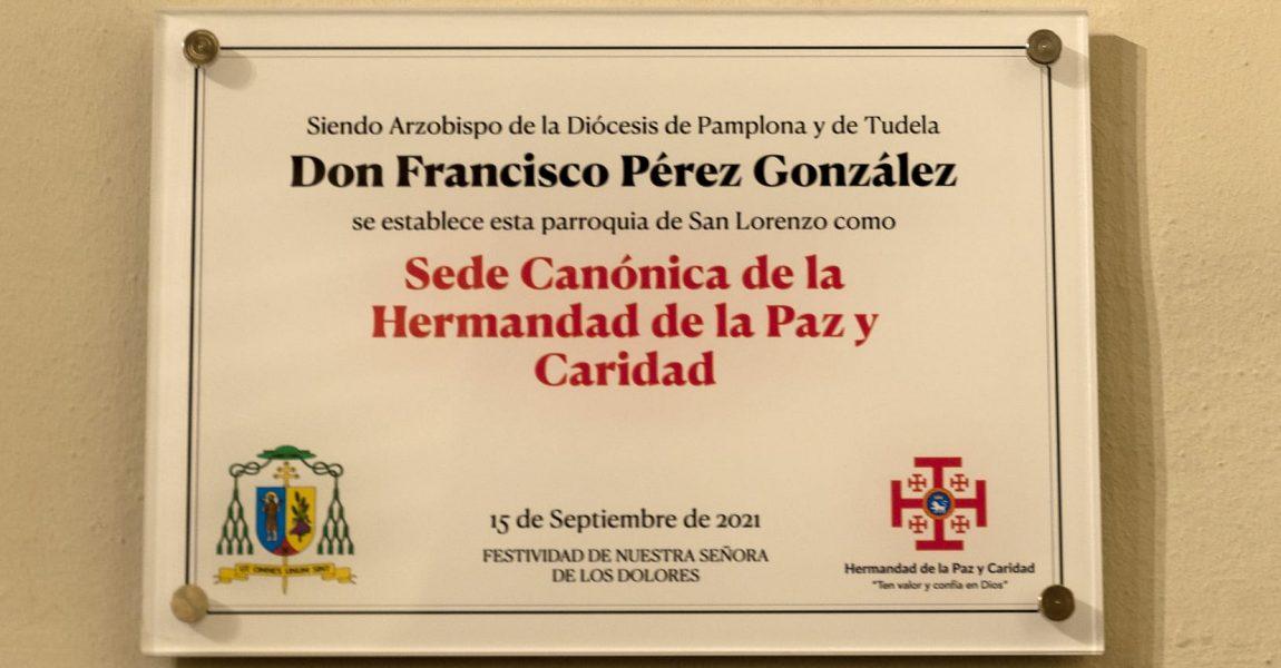Designación de la SEDE CANÓNICA DE LA HERMANDAD